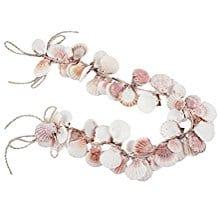 Coastal-Seashell-Natural-Decorative-Garland-3ft Beachy Starfish and Seashell Garlands