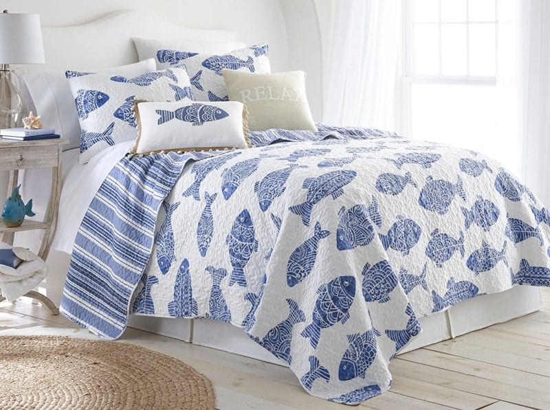 Elise-James-Home-Alani-Fish-Quilt-Set-800x597 Elise and James Bedding Sets