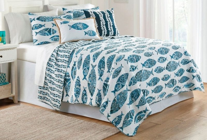 Elise-James-Home-Aleena-Fish-Quilt-Set--800x542 Elise and James Bedding Sets