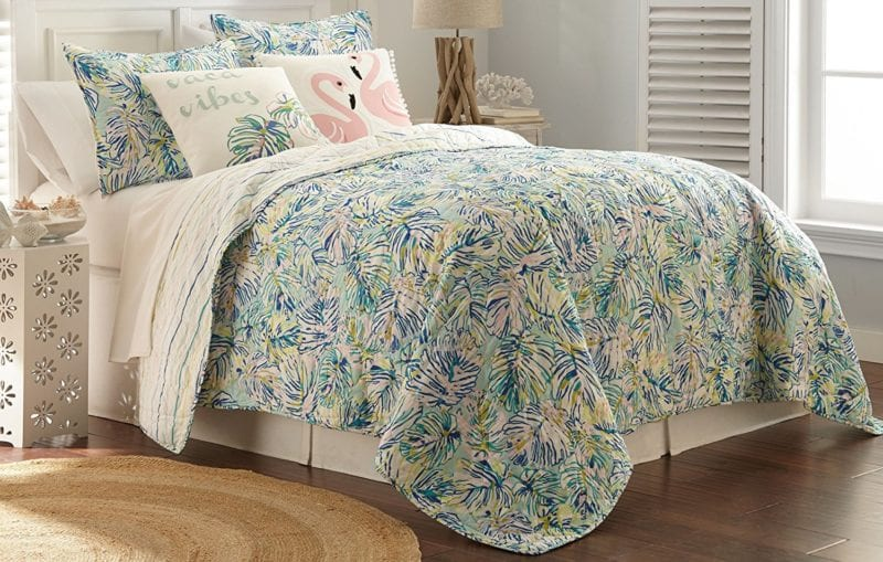 Elise-James-Home-Kaila-Painted-Palm-Quilt-Set-800x509 Elise and James Bedding Sets