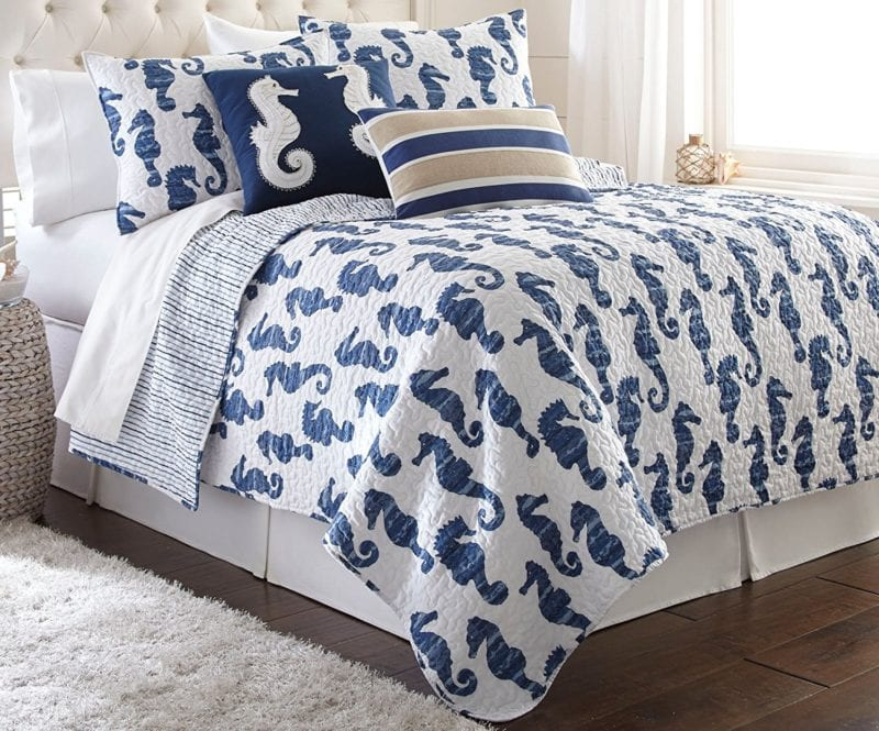 Elise-James-Home-Seymour-Seahorse-Quilt-Set-800x665 Elise and James Bedding Sets