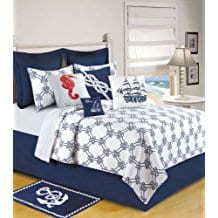 Knotty-Buoy-Quilt-FullQueen-Quilt-90x92 Nautical Quilts and Beach Quilts