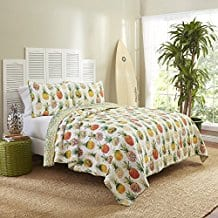 Kokomo-Quilt-Set-Twin-Sunshine-pineapple Pineapple Bedding Sets and Duvet Covers
