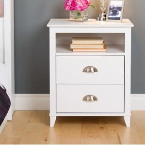 PembrookeTraditional2DrawerNightstand Beach and Coastal Bedroom Furniture