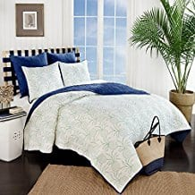 Pina-Quilt-SetBlueQueen Pineapple Bedding Sets and Duvet Covers