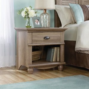 Pinellas1DrawerNightstand Beach and Coastal Bedroom Furniture