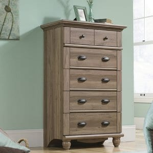 Pinellas5DrawerChest-1 Beach and Coastal Bedroom Furniture