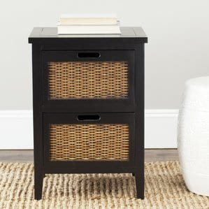 St.Leo2DrawerNightstand Beach and Coastal Bedroom Furniture