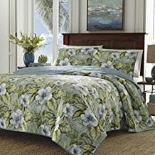 Tommy-Bahama-Alba-Botanical-Quilt-Set Tommy Bahama Bedding Sets