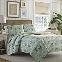 Tommy-Bahama-Anglers-Isle-Aloe-Quilt-Set Tommy Bahama Bedding Sets