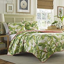 Tommy-Bahama-Aregada-Dock-Ecru-Quilt-Set Tommy Bahama Bedding Sets