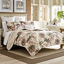 Tommy-Bahama-Bonny-Cove-Quilt-Set-King-White Tommy Bahama Bedding Sets