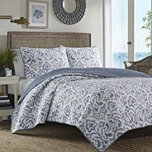 Tommy-Bahama-Cape-Verde-Smoke-Quilt-Set-King-Smoke Tommy Bahama Bedding Sets
