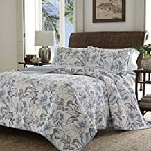 Tommy-Bahama-Casablanca-Garden-Quilt-Set Tommy Bahama Bedding Sets