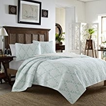 Tommy-Bahama-Quilt-Set-King-Cape-Plumbago Tommy Bahama Bedding Sets