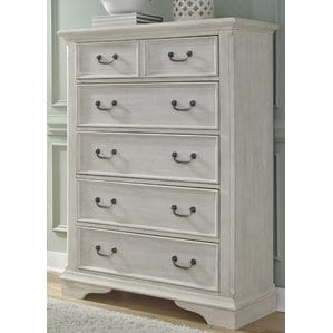Trenton5DrawerWoodChest Beach and Coastal Bedroom Furniture