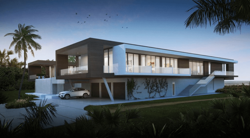 Villa-Cielo-Y-Mar-Beach-Home-3-800x441 See A $37.9M Beach Home in Jupiter, Florida