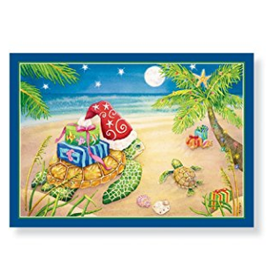 Beach Christmas Cards