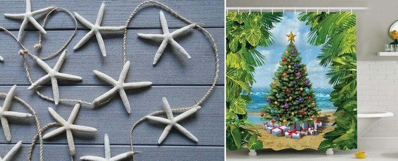 Beach Christmas Decorations