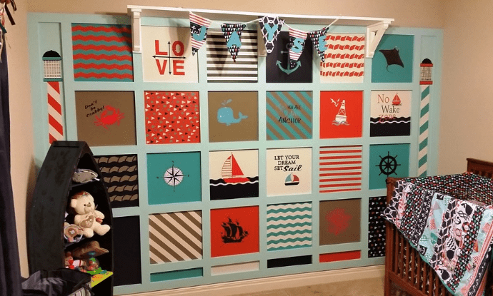 nautical-theme-nursery-baby-room Beach and Nautical Crib Bedding