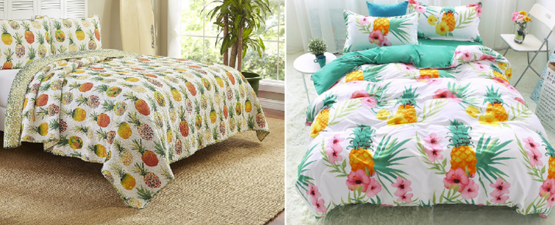Pineapple Bedding Sets and Duvet Covers