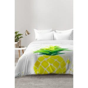 pineapple-sunshine-comforter-set Pineapple Bedding Sets and Duvet Covers