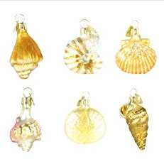 shell-ornaments Amazing Seashell Christmas Ornaments