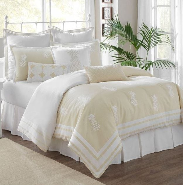 southern-tide-southern-hospitality-duvet-cover-set Pineapple Bedding Sets and Duvet Covers