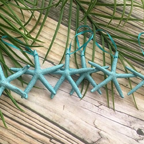 starfish-ornaments Nautical and Beach Christmas Decorations