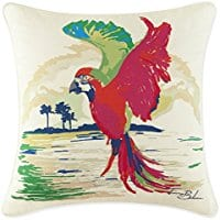 tommy-bahama-painted-parrot-throw-pillow Tommy Bahama Bedding Sets