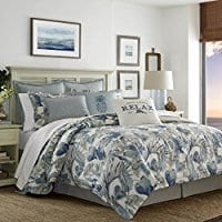tommy-bahama-raw-coast-blue-duvet-cover Tommy Bahama Bedding Sets