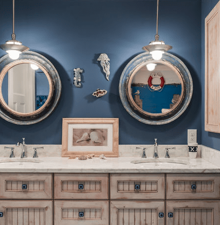 Beautiful-by-the-Sea-by-Town-and-Country-Kitchen-and-Bath Beach And Nautical Bathroom Lighting