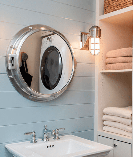 Concord-Poolhouse-by-Sean-Litchfield-Photography Beach And Nautical Bathroom Lighting