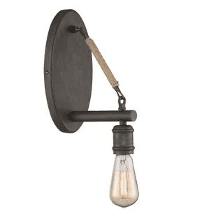 Gilbertsville-1-Light-Wall-Sconce-by-Three-Posts Beach And Nautical Bathroom Lighting