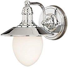 Vaxcel-W0051-Marina-Bay-1-Light-Vanity-Light Beach And Nautical Bathroom Lighting