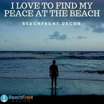 find-my-peace-at-the-beach-quote Beach Quotes and Ocean Quotes