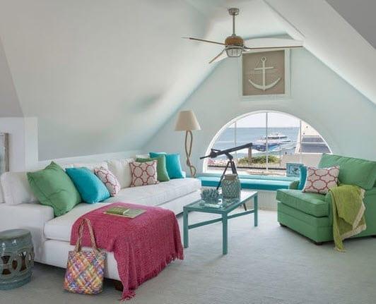 Coastal-Chic-by-Kate-Jackson-Design Nautical Anchor Decor