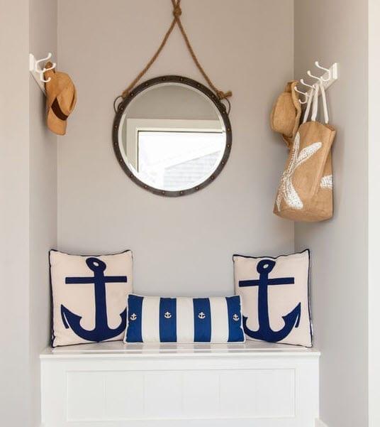 Entry-Design-by-Pastiche-of-Cape-Cod-Inc. Best Nautical Anchor Decor