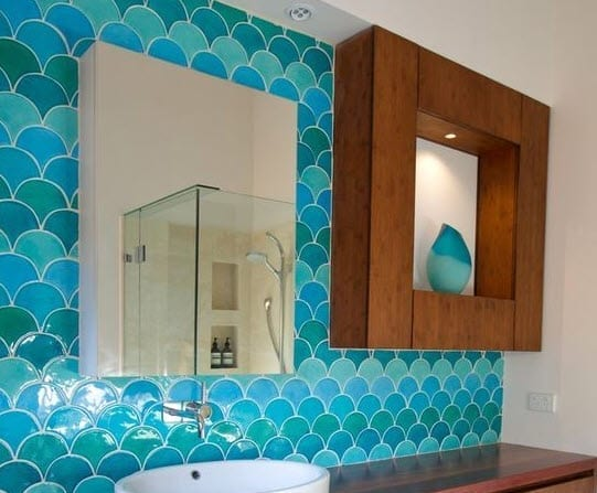 Mermaid-Backsplash-by-Camilla-Molders-Design Mermaid Home Decor