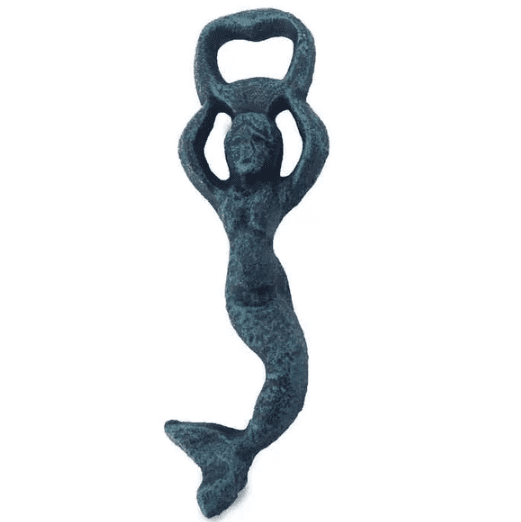 Swimming-Mermaid-Bottle-Opener Mermaid Home Decor