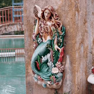 melodys-cove-mermaid-wall-decor Mermaid Home Decor
