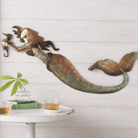 mermaid-wall-decor Mermaid Home Decor
