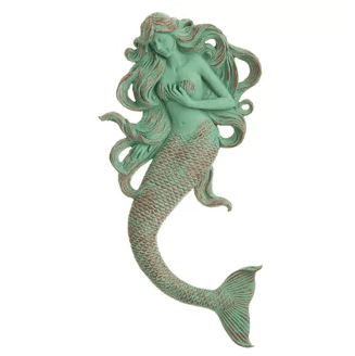 Traditional Mermaid Wall Decor Highland Dunes Beautiful Mermaid Decor