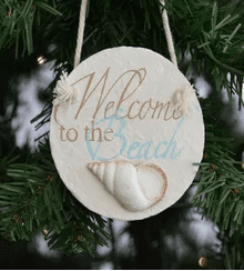 welcome-to-the-beach-christmas-ornament Giveaway