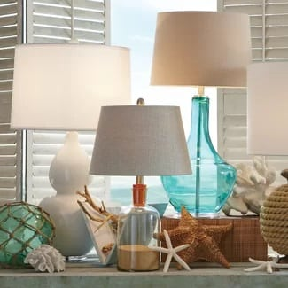 Beach Table Lamps