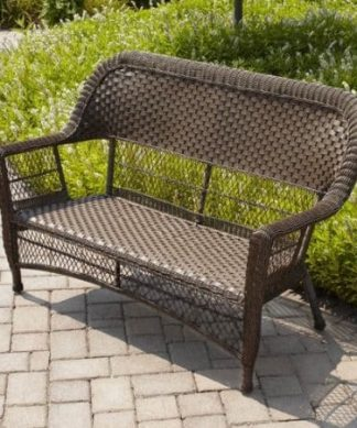Wicker Benches