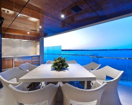 Applecross-Riverfront-Home-Western-Australia-by-Zorzi Best White Wicker Furniture