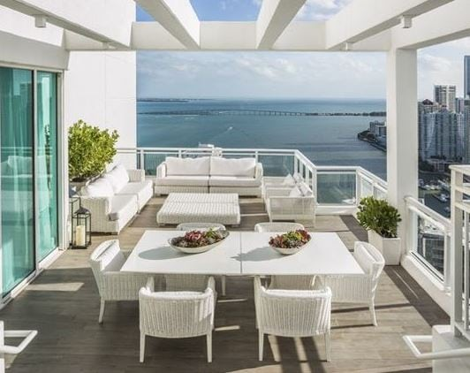 Patio-by-Euro-Tile-Outlet Best White Wicker Furniture