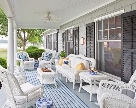 White-Wicker-Porch-Furniture-by-Bountiful Best White Wicker Furniture