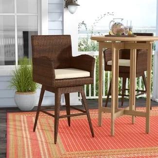 beachcrest-home-weymouth-29-wicker-bar-stool Best Wicker Bar Stools